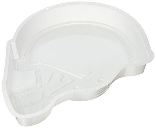 CK Products 49-6004 Plastic Football Helmet Cake Pan, White (Football Helmet Cake Pan compare prices)
