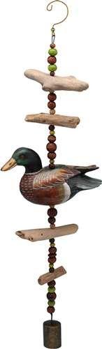 Songbird Essentials Mallard Duck Driftwood Sculpture