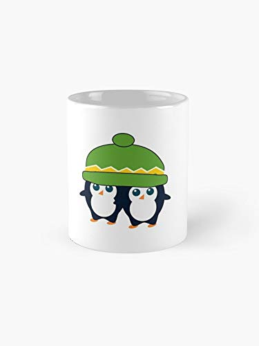 - When Two Cute Penguins Find A Beanie 11oz Mug - Great gift for family and friends.
