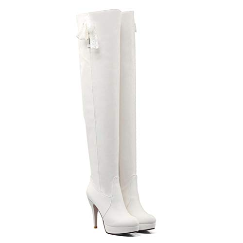 amp; Thick Joe Damen Section White Stiefeletten Stiefel Eww74qg
