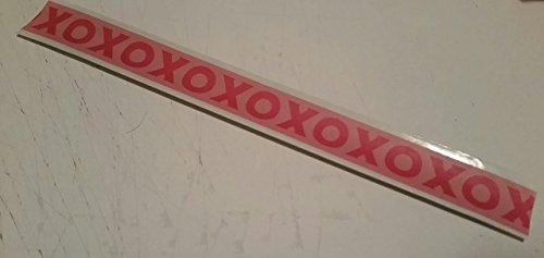 XO Hugs and Kisses Valentine's Day Slap Bracelet