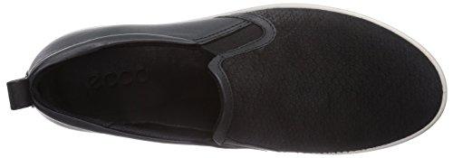 Ecco Aimee Black/Black Clodine/Feather Damen Sneakers Schwarz (Black/Black Clodine/Feather58992)