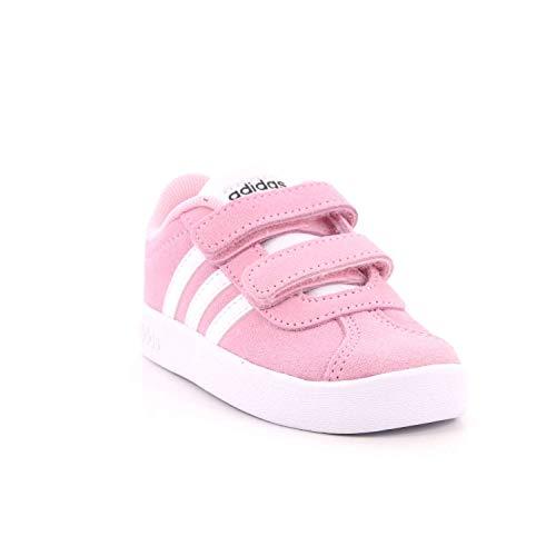 Fitness Vl rosaut ftwbla Bambini grisei Multicolore Adidas Da Unisex 000 2 Cmf – I 0 Court Scarpe O68dTw