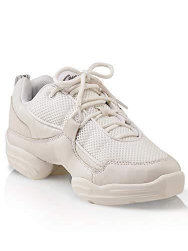 Capezio Women's DS11 Fierce Dance Sneaker,White,10 M