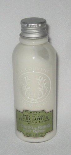 Le Couvent Des Minimes Formula No. 308 Revitalizing Body Lotion ~ Verbena & Lemon ~ 2.5 fl. oz. (75 ml), Travel-Sized - Le Couvent Lemon