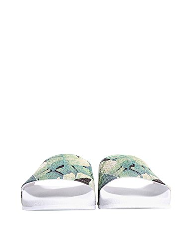 Slydes Women's Palm Women's White Slides In Size 39 White