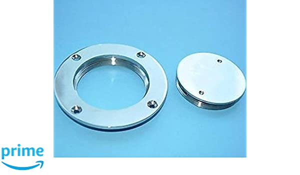 """Marine 5/""""  Inspection Deck Plate Hatch for Boat 316 Stainless Steel"""