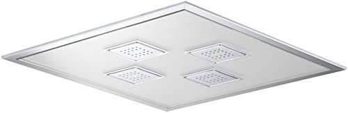 KOHLER 98741-CP Watertile Ambient Rain Overhead Rain Shower, Polished Chrome