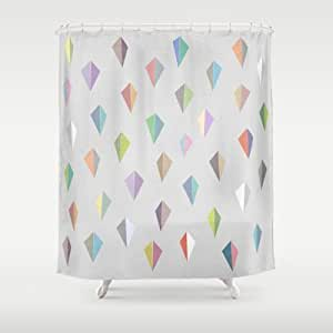 Society6 - Nordic Combination 9 Shower Curtain by Mareike B??hmer Graphics