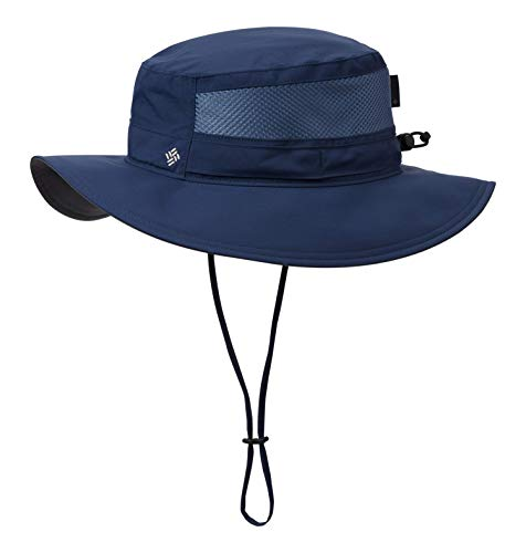Columbia Men's Bora Bora Booney II Sun Hat, Collegiate Navy, One Size