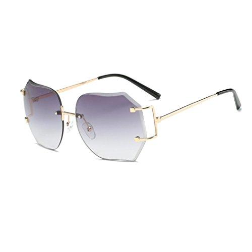 7f76108b0bc7d6 LHWY Femmes hommes voyage lunettes de soleil été Vintage Retro lunettes  carré dégradé de couleur lunettes