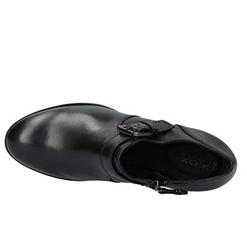Remigia Zapatos para Geox Negro Black Mujer C9999 D de C Tacón 71axt5qwx