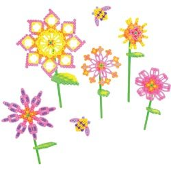 Bulk Buy: Perler Beads (2-Pack) Shapes Fun Fusion Fuse Bead Activity Kit Blooming Flowers 80-56001 (Fun Shapes Fuse Bead Kit)