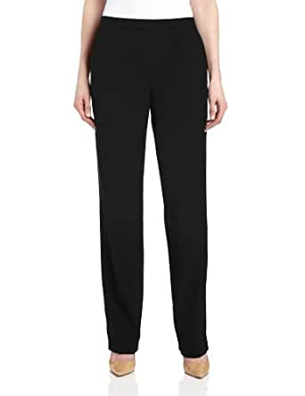 Briggs New York Women's All Around Comfort Pant,Black,8