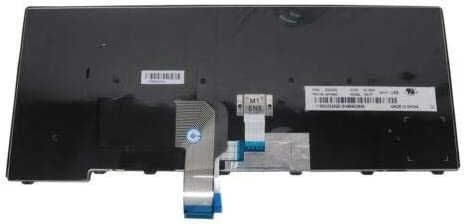 Reemplazo de Teclado Lenovo Thinkpad Genuine L440 L450 L460 T431S UK Negro QWERTY 04Y0853 T440 T440P T440S T450 T450S T460 UK QWERTY Laptronics