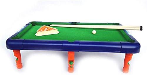 AJH Deluxe minitafel-pooltafel Mini-pooltafel voor volwassenen en kinderen Kleinere combinatie-speeltafel voor indoorentertainment tussen vrienden en collega's Tafelblad