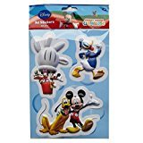 Disney Colourful Large 3D Decoration Stickers - Mickey Mouse and Friends ()