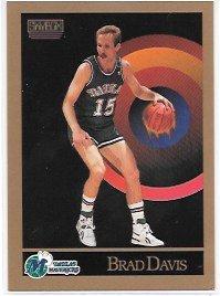 check out e3d55 244a8 Brad Davis 1990-91 SkyBox Dallas Mavericks Card #62 at ...