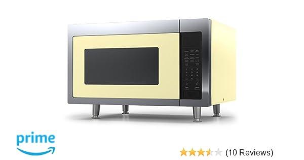 Amazon com: Big Chill Retro Microwave 1 6 cu  ft  1200 watts