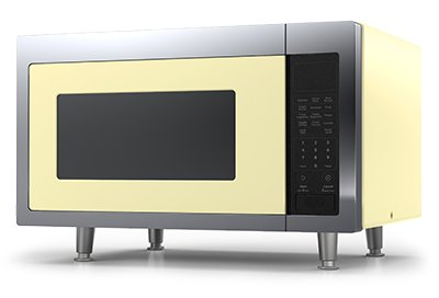 Retro Microwave 1.6 cu. ft. 1200 watts Buttercup Yellow