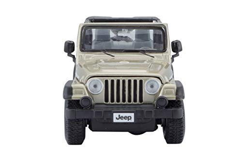Maisto 1:27 Scale Jeep Wrangler Rubicon Diecast Vehicle (Colors May Vary) from Maisto