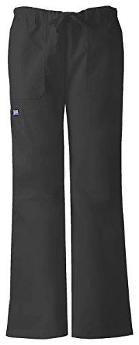 Classic Black Drawstring Pants - 9