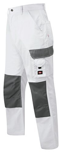 Lee Cooper LCPNT228 Size 38L Workwear Pant - White by Lee Cooper by Pan World Brands Ltd