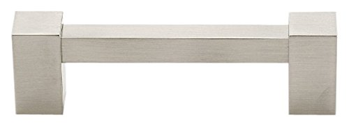 (Alno A718-35-SN Contemporary II Modern Pulls, Satin Nickel)