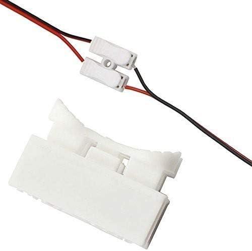 la S/éCurit/é Facile /à Utiliser Connexion de Fil pour Bande de LED Borne /à Pince pour C/âBle de Connecteur Rapide de Connecteur /à Ressort QHLJX 100 pcs CH2 Connecteurs de Fil /à Ressort