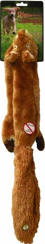 (Ethical Pet Plush Skinneeez 24-Inch Dog Toy, Squirrel)
