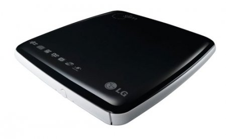 LG GP08LU10 8x DVD±RW Slim Super Multi Drive with LightSc...