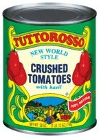 Tuttorosso Crushed Tomato, 28-Ounce (Pack of 12)