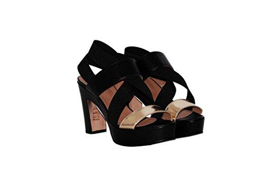 Sandalen Sandaletten aus Leder Schuhe Damen RIPA shoes - 02-5751