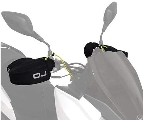 pour Yamaha N-Max 155 Manchons Thermique OJ C011 Micro Pro Hand Mains UNIVERSELLES pour Scooters DE Motocyclette Couverts DE Tissu avec Padding