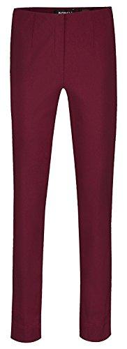 Robell - Pantalones elásticos, corte ajustado (# ICH WILL MARIE!) weinrot(56)