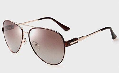 Sol Polarizador Sol Gafas Dos De Tea Cover Foot Las Coffee Colores De Forman Progresivas XGLASSMAKER Sol Gafas De Las Gafas De De Box q0TXvT7