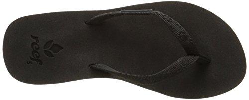 Reef Women's Ginger Sandal,Black/Black,9 M US