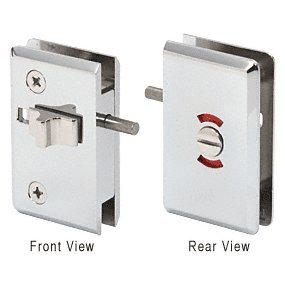 CR LAURENCE P190SCACH CRL Chrome Pinnacle Sliding Block Lock for RPS