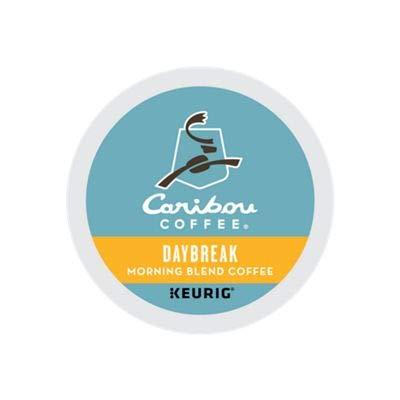 Caribou Coffee Daybreak Morning Blend, Single Serve Coffee K-Cup Pod, Light Roast, 24