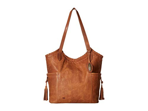 (Born Womens Vallejo Tote Saddle One Size)