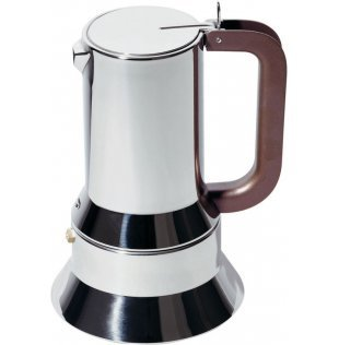 Alessi 9090/6 Richard Sapper Stovetop Espresso Maker 6 Cup by Alessi
