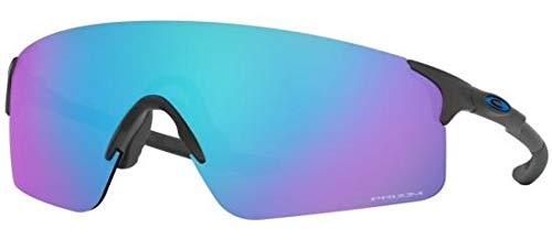 Oakley Men's EVZero Blades Sunglasses,OS,Steel/Pr?zm Sapph?re (Oakley Unobtainium)