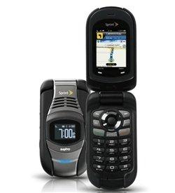 Sprint Sanyo Taho E4100 by Kyocera 3G 2.0 Megapixel Camera Clamshell Cell ()