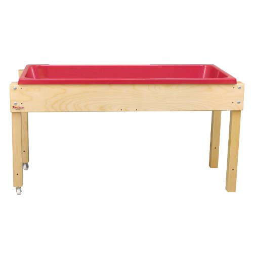 Wood Designs Sand (Wood Designs WD11850 Sand and Water Table without Lid, 24 x 46 x 17