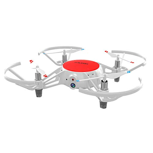 Mini XY-021 WiFi FPV 2.4GHz 6-Axis 720P HD Camera RC Drone Quadcopter, Drone Gift Toy by PSFS (RED)