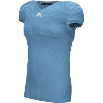 Adidas Heren Techfit Primeknit Voetbal Shirt Lichtblauw