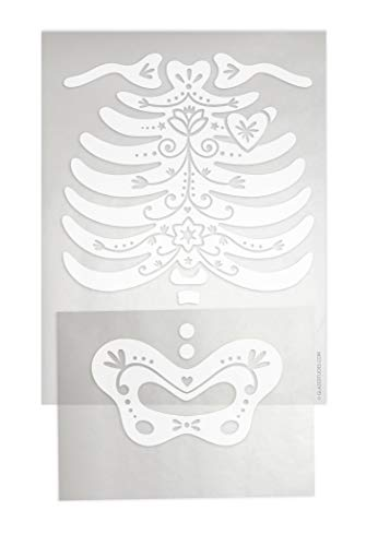 DIY Iron-on Transfer Child's Skeleton Rib Cage and Pelvis