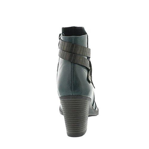 Heavenly Feet Ritz 2 - Ocean (Green) Womens Boots dPvklV