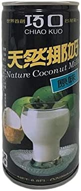 巧口天然椰子汁【10缶セット】 ココナッツジュース 台湾名物・伝統飲料 250ml x10缶