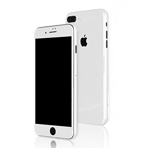 AppSkins Folien-Set iPhone 7 PLUS Full Cover - Brilliant Diamantweiß/ ceramic white